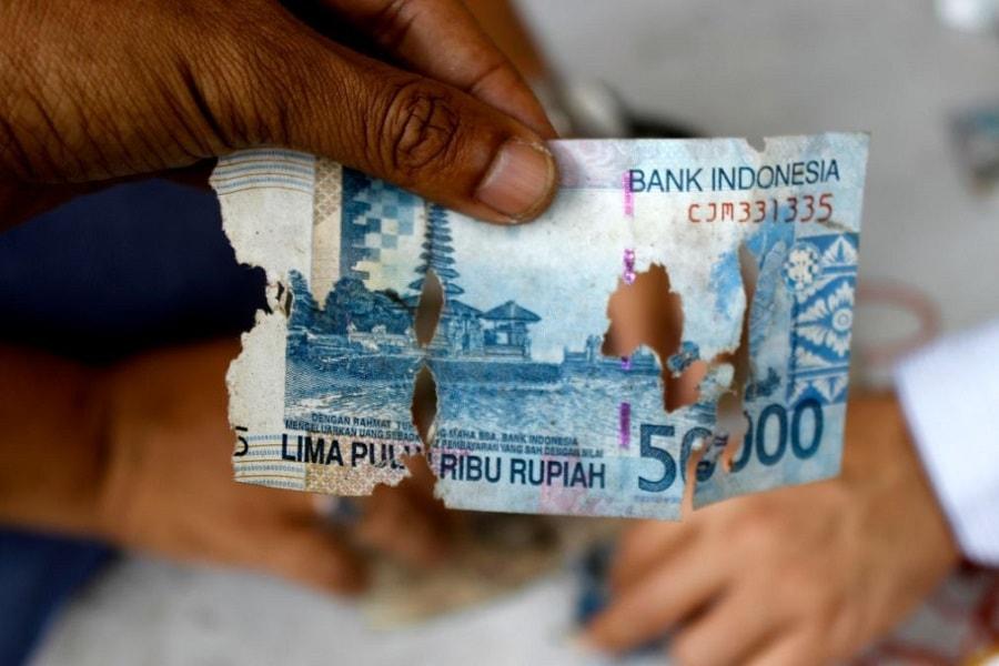 Syarat Penukaran Uang Rusak di Bank Indonesia