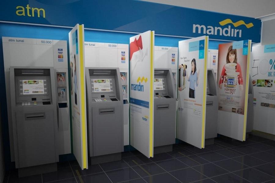 Cara Daftar SMS Banking Mandiri Via Mesin ATM