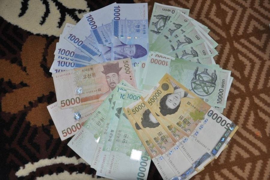 Mata uang korea