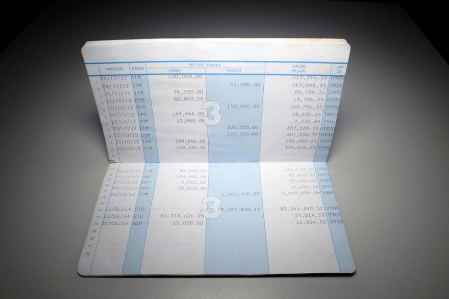 Cara dan syarat ganti buku tabungan bank yang sudah habis