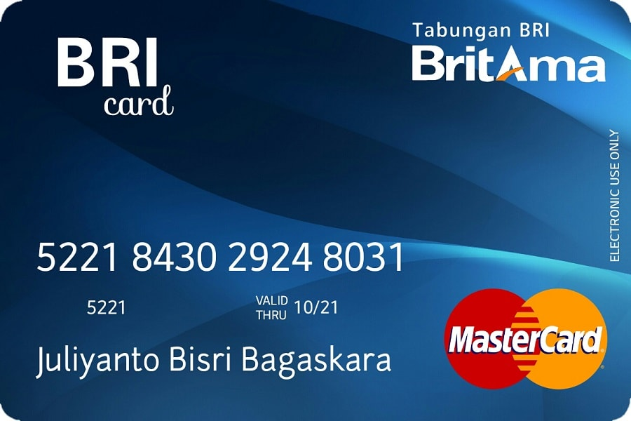 Cara membuat kartu ATM BCA BNI BRI MANDIRI Dll biar ada namanya