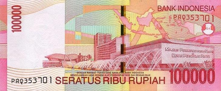 negara dengan mata uang lebih rendah dari rupiah