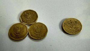 Benarkah uang logam 500 rupiah tahun 1991 memiliki kandungan emas