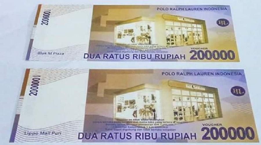 Uang baru Indonesia 2016 pecahan 200.000 rupiah