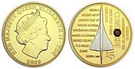 uang gambar pesawat dan ratu elizabeth