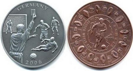 uang koin paling unik untuk memperingati piala dunia