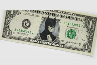 gambar uang dicoret-coret yang lucu tetapi sebenarnya tidak boleh