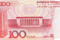 Nama mata uang Tiongkok yuan atau renminbi