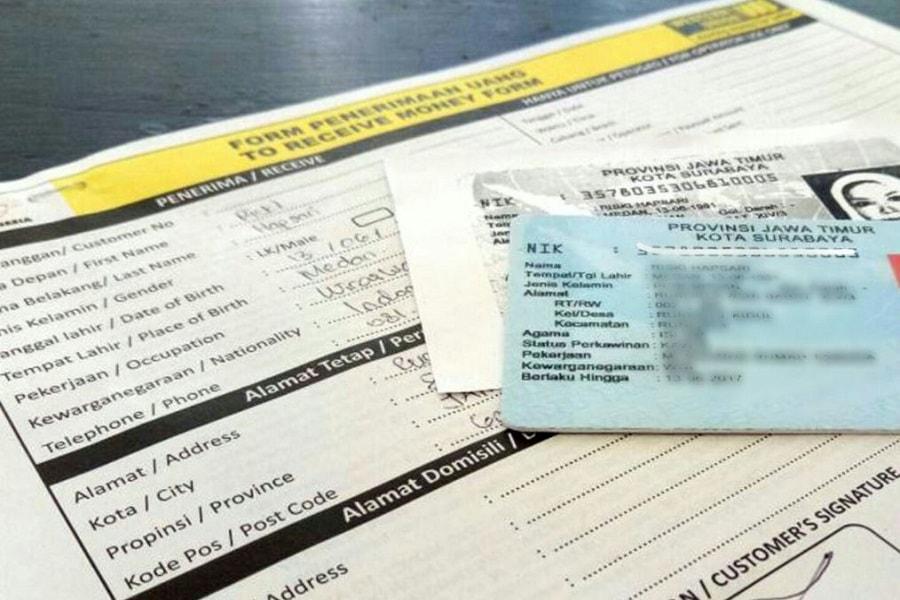 Syarat pengambilan uang di Western Union