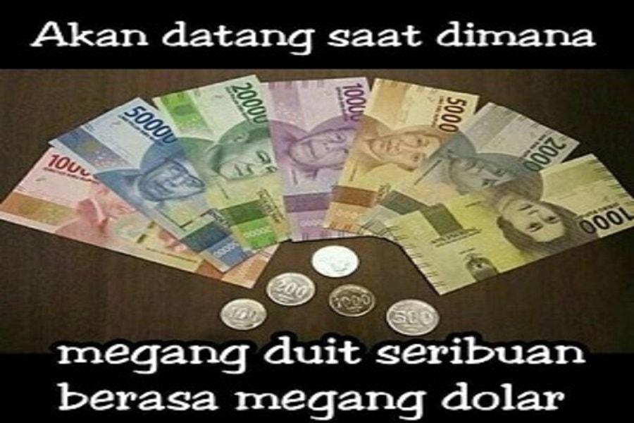meme uang baru Indonesia