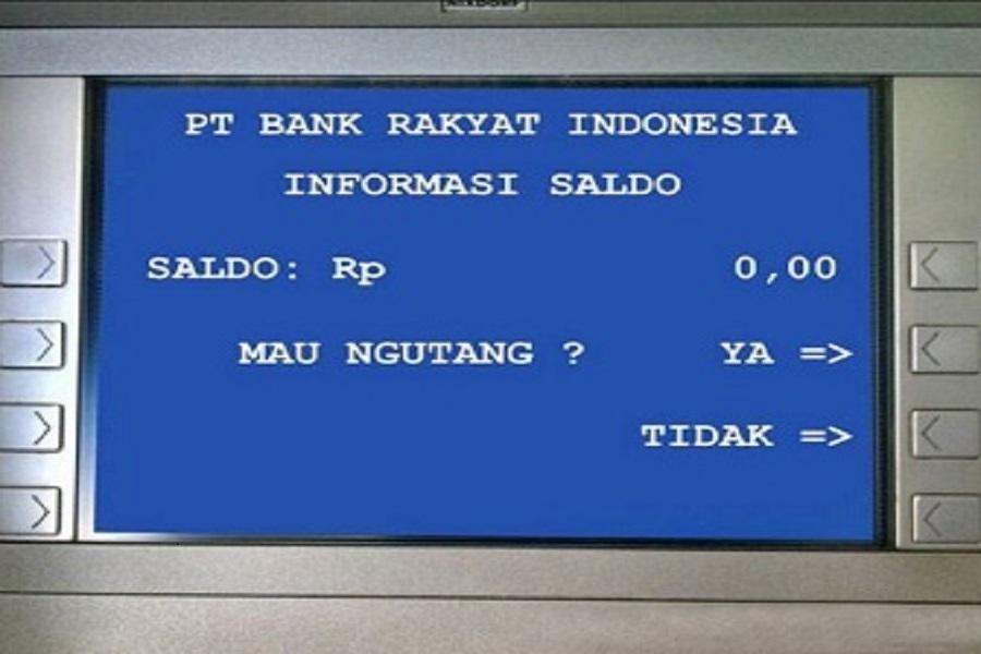 meme saldo ATM lucu ini bisa jadi menyindir Anda
