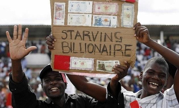 Dolar Zimbabwe dijual sebagai souvenir