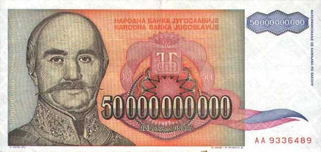 Lima puluh miliar dinara Krajina
