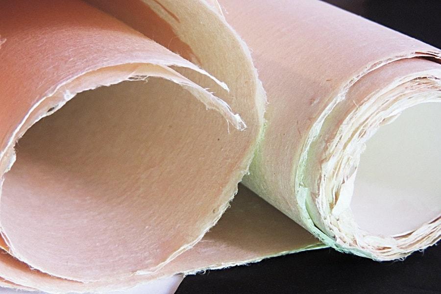 Mitsumata bahan pembuatan uang kertas yen Jepang