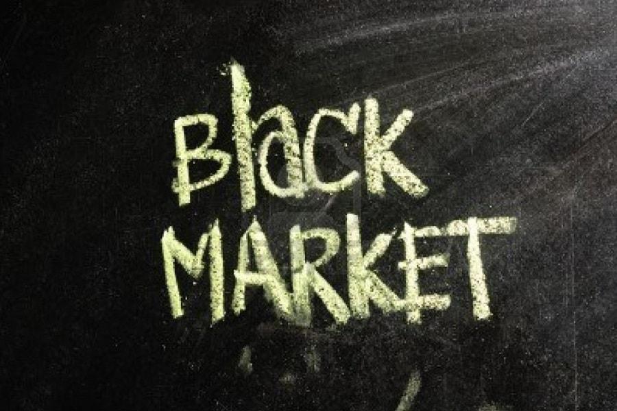 nama-nama mata uang yang diterima di black market, pasar gelap, pasar hitam