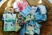 uang rusak dimakan rayap