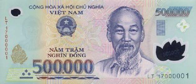 Uang lima ratus ribu dong Vietnam